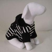 China Dogs casual sweater,Stripes casual hoodies for dogs wholesale