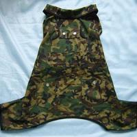 China Camouflage jumpsuit for pets wholesale