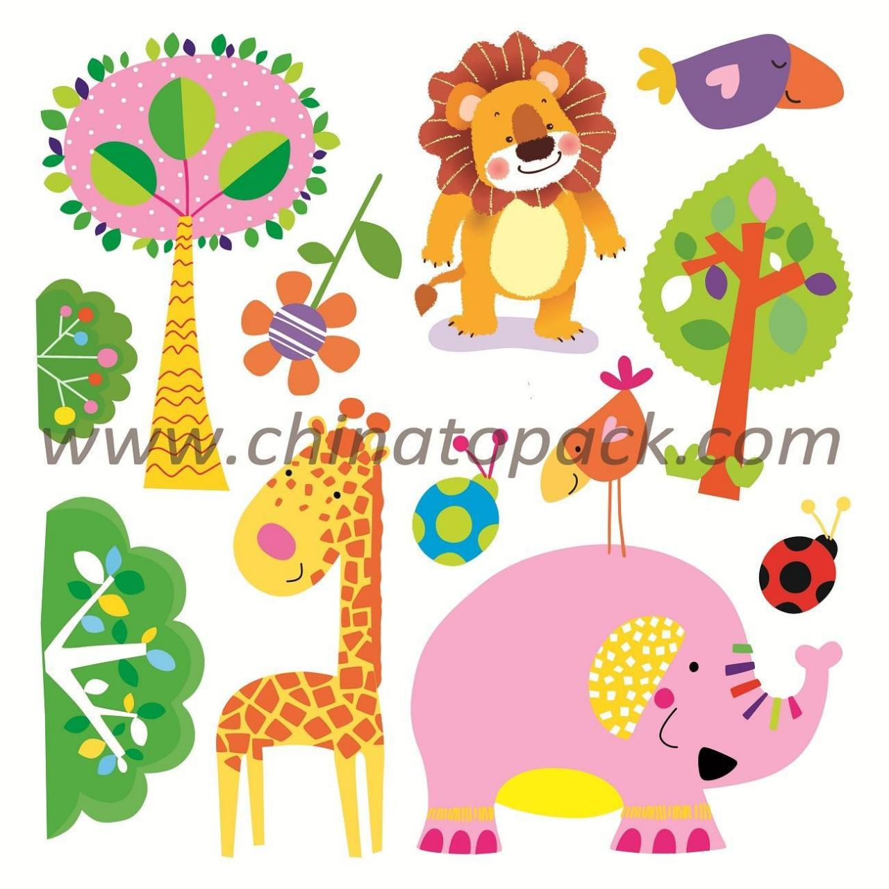 Buy cheap Sticker Series Product Name:Newest Vinyl 3D Children Wall Stickers JYC-012 from wholesalers