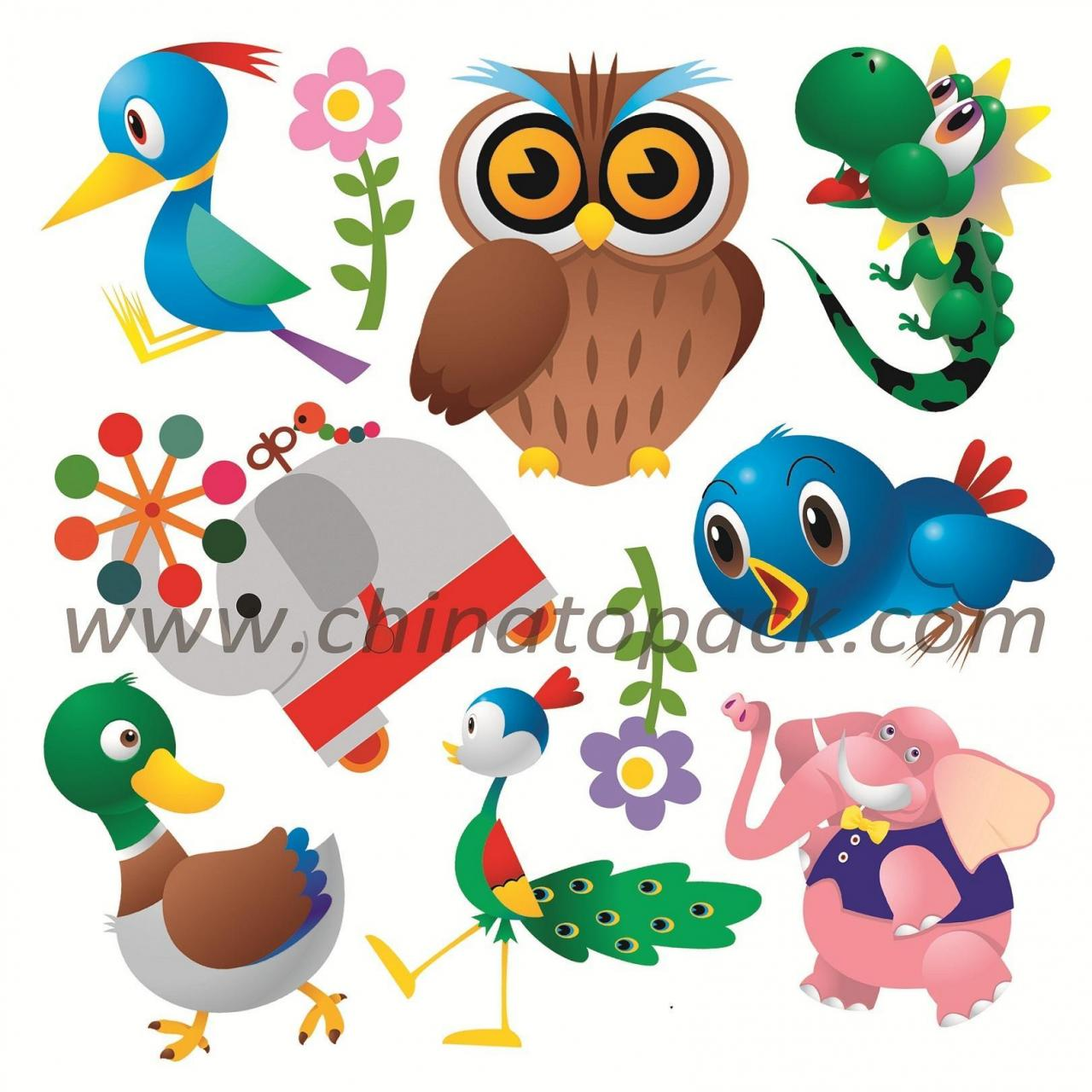 China Sticker Series Product Name:Vinyl 3D Children Wall StickersJYC-009 wholesale