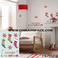 China Sticker Series Product Name:Xmas Kids Wall Deco Sticker TP-WS635 wholesale