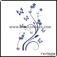 China Sticker Series Product Name:Flower AdSelf Adhesive Sticker TP-WS628 wholesale