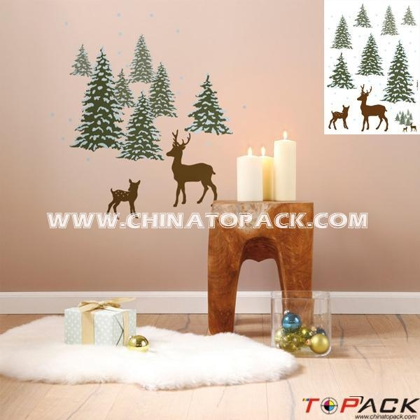Quality Sticker Series Product Name:Vinyl Tree Adhesive PVC Wall Decal TP-WS629 for sale