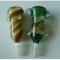 China Glass pipes bongs Substitute Hand Blown Glass on Glass Ash Catacher catcher BX28 wholesale