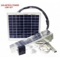 Buy cheap 10W solar panel, charger, wiring and mount kit from wholesalers