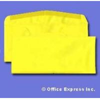 Colored #10 Regular Envelope - Astrobright - 24# Sunburst Yellow Size: (4 1/8 x 9 1/2)