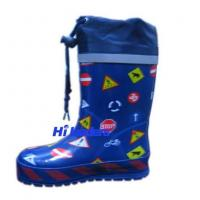 China Gum boots Boy's rain boots on sale