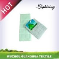 China Microfiber checked tea towel wholesale