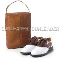 China leather accessaries 106421-Leather shoes bag golf shoe bag on sale