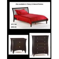 China 3 PC bedroom set Sleigh H Platform bed wholesale