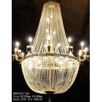 China Large golden crystal chandelier, 39 light sources, can be customized according to requirements wholesale