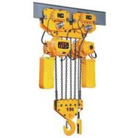 China 15 tons Electric Chain Hoist on sale