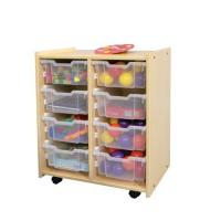 China Natural Interchangeable Bin Storage S624 M624 J624 wholesale