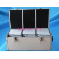China Waterproof Aluminum Storage Cases / 500 CD Cases with Lock for Carry DVD on sale