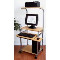 "Quality STS-5801-E 24"" Desktop & Laptop Computer Desk w/ hutch printer shelf for sale"