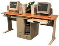 Quality C LCW180 - Two Person/Tower Computer Workstation for sale