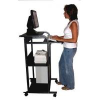 "Quality S-2445W 24"" W Mobile Stand-up Computer Desk for sale"