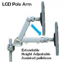 Quality DP-855BS Height Adustable Pole & Wall Mount LCD arm for sale