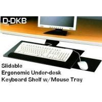 Quality D-KB-DK Slidable Underdesk Ergonomic Keyboard Shelf w/Mouse Tray for sale