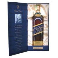 Johnnie Walker Blue Label A Blend of Very Rarest Whiskies
