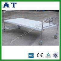 China Parallel bed metal beds with castors for hospital wholesale