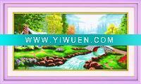 China Artificial Crafts(970) ideal world cross stitch wholesale