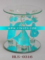 China Artificial Crafts(970) Beautiful & Lovely Blue Angel oil burner wholesale