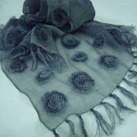 Buy cheap Hand Knitted Scarves Hand Work Scarves from wholesalers