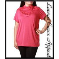 China Womens PLUS SIZE Clothing Mauve Pink Top 1X 14/16 on sale