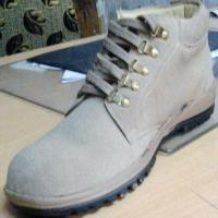 China Industrial Leather Safety Shoes on sale