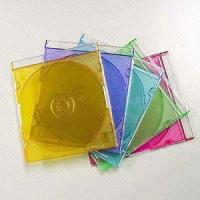 China Durable Single VCD/CD Jewel Boxes in Assorted Transparent Colors on sale