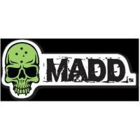 China Madd Gear Logo Sticker Green wholesale