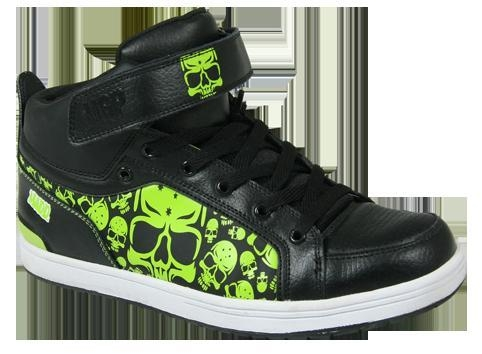 China MGP High Top Kick shoe Black