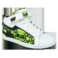 Buy cheap MGP High Top Kick shoe White from wholesalers