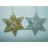 China Acrylic/Plastic Ornaments Clear Acrylic 6 Poinsts Star(285048) on sale