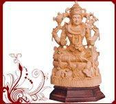 China Lord Shiva Wood Sculpture wholesale