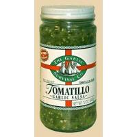China Tomatillo Garlic Salsa wholesale