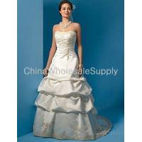 Buy cheap Strapless Wedding Dresses from wholesalers