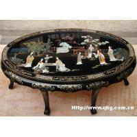 China Coffee table with 6 stools wholesale