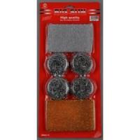 Buy cheap Cleaning Supplies Scrubber Set 6pcs from wholesalers