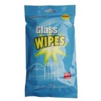 Buy cheap Cleaning Supplies Glass Wipe 40s from wholesalers
