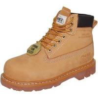 China 6Leather Steel Toe Work Boot for Women wholesale