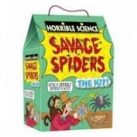 China Toys, Puzzles, Games & More Horrible Science Savage Spiders wholesale