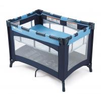 China UG-BPP248 Celebrity Play Yard Crib with Bassinet, Blue wholesale