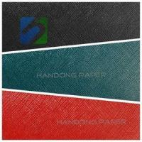 Buy cheap PVC coated paper for bookbinding and covering /specialty paper price from wholesalers