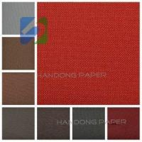 Buy cheap Paper backed book binding cloth /gift wrapping paper /gift wrapping paper from wholesalers