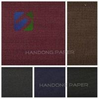 Buy cheap 2015 hot cotton packing fabric/ paper backed book binding cloth for wedding cards from wholesalers
