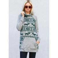 China Clothing NEW: North Pole Sweater in Pine wholesale