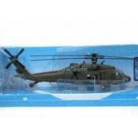 China Black Hawk UH-60 Helicopter diecast model 1:60 scale die cast from NewRay - Green on sale