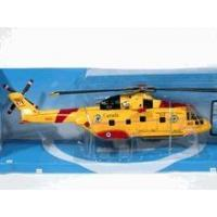 China Agusta EH 101 Canada Rescue Helicopter diecast model 1:72 scale die cast from NewRay - Yellow on sale